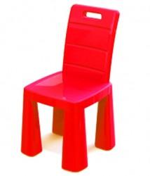 Стульчик-табурет детский пластиковый красный 04690 Doloni