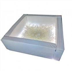 Сухой мягкий бассейн Светотерапия квадратный 0540 Тия Спорт