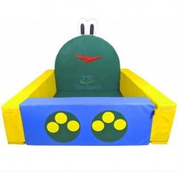 Сухой бассейн мягкое дно Лягушонок  0723 Тиа-спорт