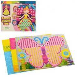 Набор для творчества плетение из бумаги 0794