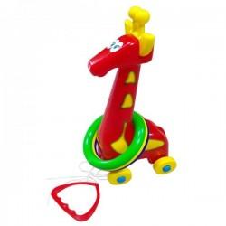 Кольцеброс Жираф с кольцами № 4 1104 Бамсик