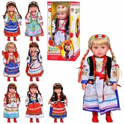 """Кукла музыкальная """"Украинская красавица"""" M 1191"""