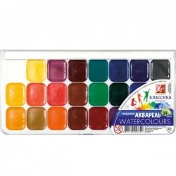 Краски акварель медовая Классика 24 цвета б/к 19С1294-08 Луч