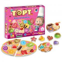 Игра на магнитах Торт, Пицца, Вафли, Блины или Пирог VT1504 Vladi Toys