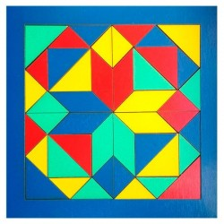 Деревянная игра Мозаика 172401 ТМ Дерево