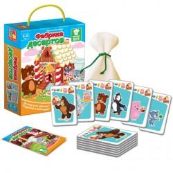 Игра карточная «Фабрика десертов»VT2308-02/2308-10