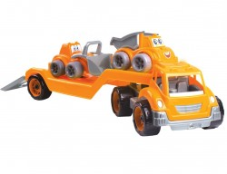 Автовоз з набором машинок Стойтехника 3930 ТехноК