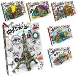 Набор для творчества Расписной конструктор 3DK Danko Toys