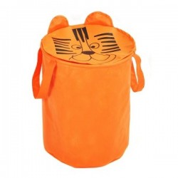 Корзина для игрушек Тигрик УкрОселя 40*50 см оранжевая