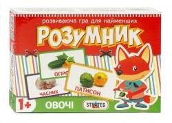 Детские карточки раннего развития Овощи 416 Розумник Стратег