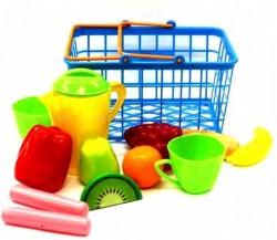 """Корзина """"Продуктовая"""" с пластиковыми продуктами и посудкой 423 в.2 Орион"""