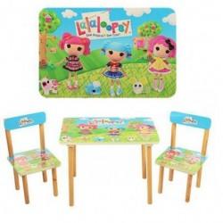 Детский стол и стулья - 2 штуки от 1 года Лалалупси 501-3 Виваст, Харьков