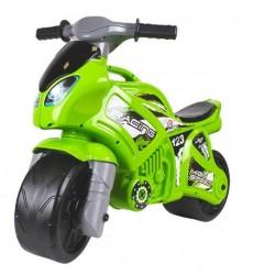 Байк мотоцикл детский каталка большой зеленый 6443 ТехноК