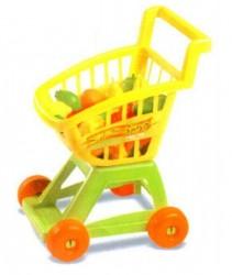 Детская тележка для игры в магазин с овощами 693 в.3 Орион