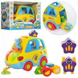 Машинка Автошка музыкальная сортер 9198 Joy Toy