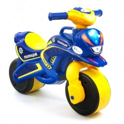 Байк  мотоцикл каталка для мальчика Фламинго ТМ Долони 0138
