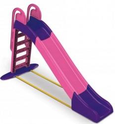 Горка детская большая для детей старше 3-х лет фиолетово-розовая 014550/9 ТМ Долони