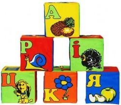 "Кубики мягкие 6 штук 13134 ТМ ""Розумна іграшка"", Одесса"