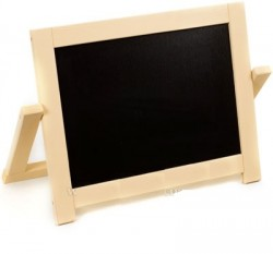 Досточка-мольберт деревянный маленький двухсторонний настольный 2 в 1