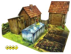 Набор для творчества 3D Село URBI