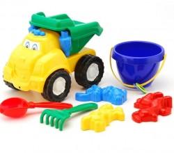 """Машинка """"Смайл"""" № 3 самосвал с песочным набором """"Colorplast"""", Украина!!!"""