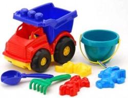 """Машинка """"Тотошка"""" № 3 самосвал с песочным набором """"Colorplast"""""""