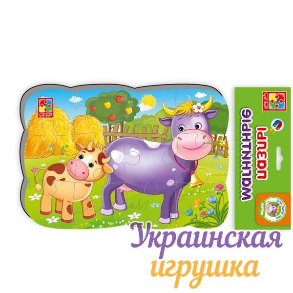 Магнитные пазлы А5 Корова и теленок VT3205-55 Vladi Toys ...