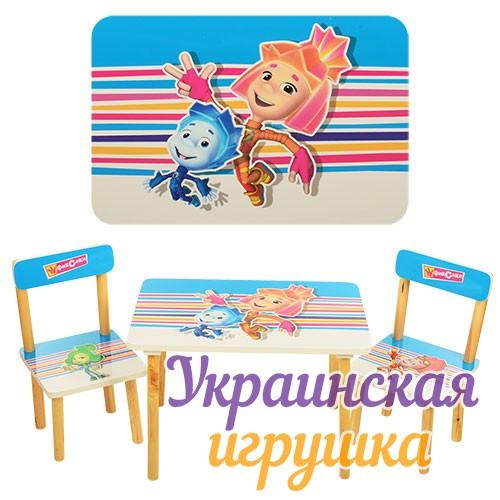 детский стол и стул от 1 года мультики 501 виваст харьков купить