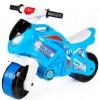Байк мотоцикл  с музыкальными и световыми эффектами голубой полиция 5781ТехноК