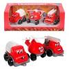 Набор пожарных машинок мини 6153 Технок в картоне